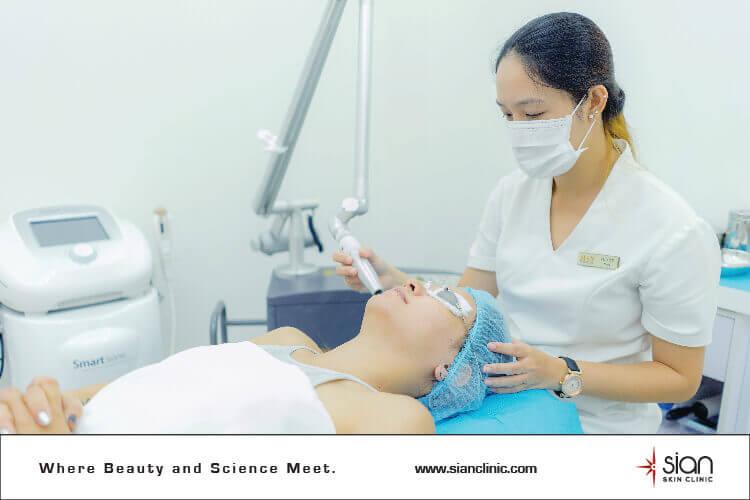 Anti-Aging Treatments - Laser Treatment SIAN