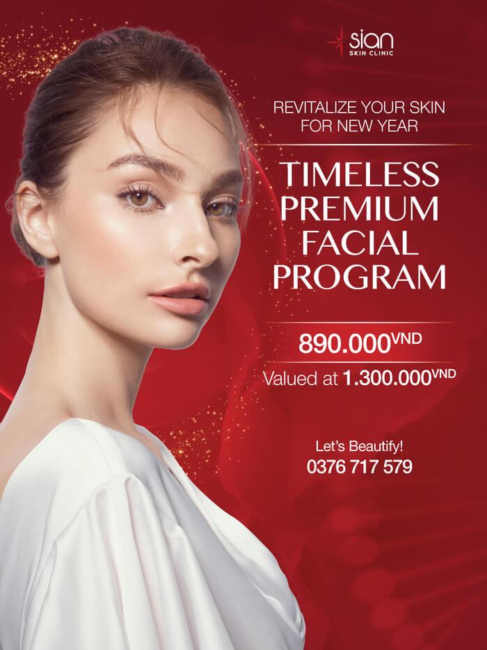 Facial treatment promotion